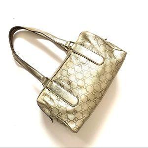 Authentic Gucci Guccissima Leather Mini Boston Bag